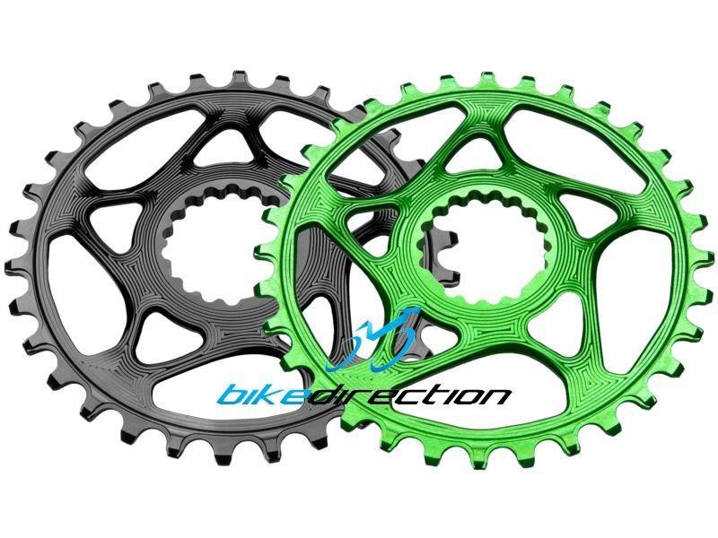 Absolute-Black-monocorona-verde-nera-cannondale-Hollowgram-Integrata-28-30-32-34-Bike-Direction