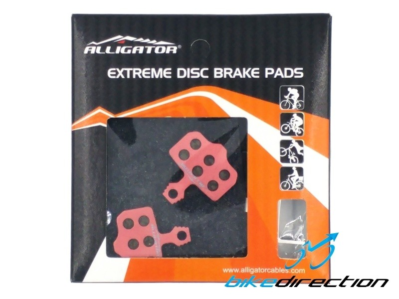 Alligator-Extreme-Carbon-Sram-level-avid-elixir-XX-X0-pastiglie-pads-Bike-Direction