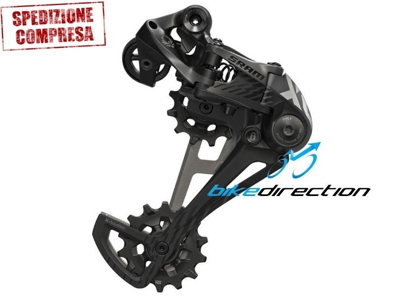 cambio-EAGLE-SRAM-X01-nero-black-X-Horizon-schwarz-12-velocità-Bike-Direction