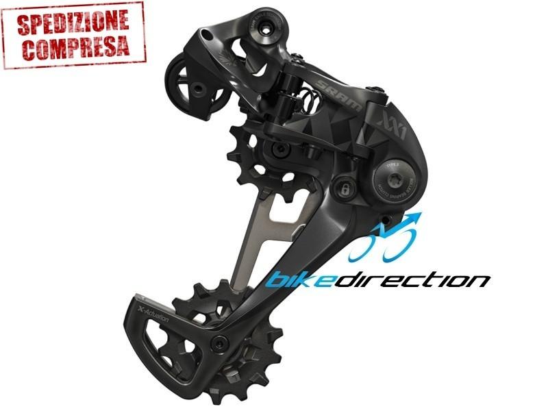 cambio-EAGLE-SRAM-XX1-nero-12V-X-Horizon-schwarz-black-rear-MTB-Bike-Direction