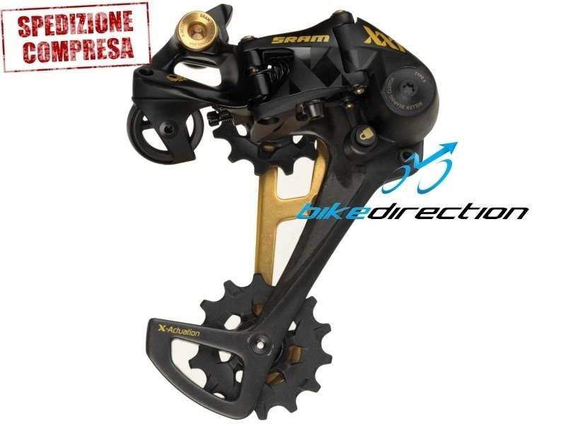 cambio-GOLD-oro-EAGLE-SRAM-mtb-12-velocità-Bike-Direction