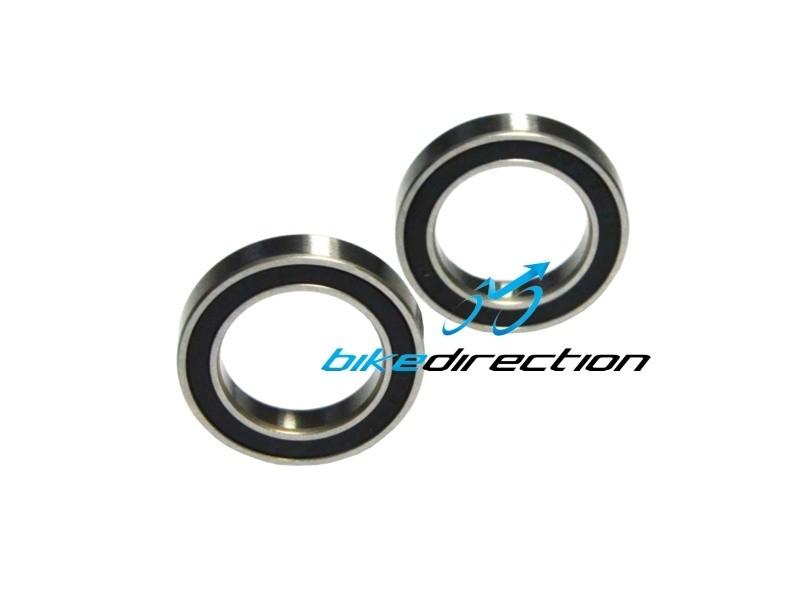 CARBON-TI-bearings-front-hub-X-hub-bearing-kit-cuscinetti-mozzo-61803-Bike-Direction