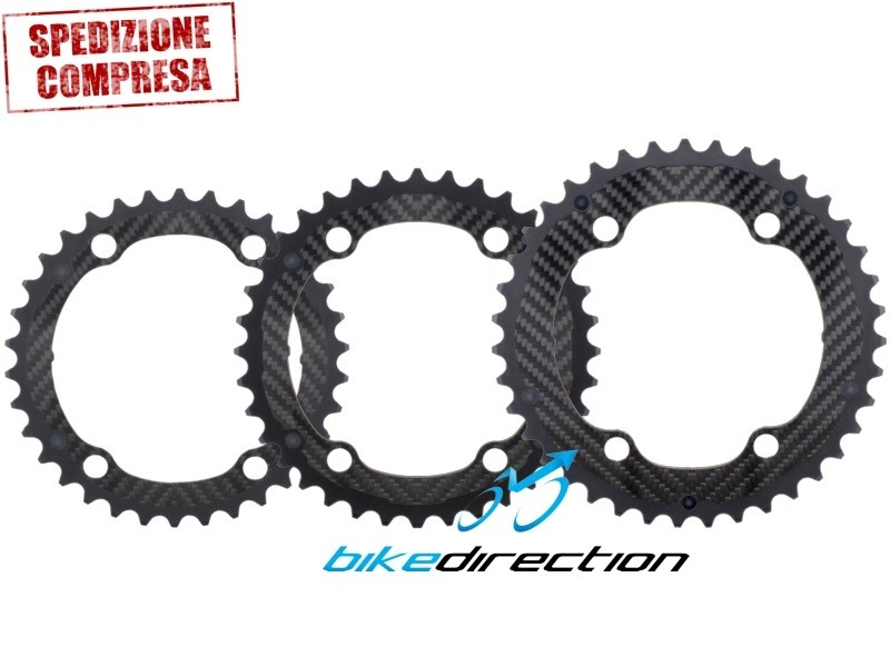 Carbon-Ti-Carbo-Ring-corona-4-bracci-shimano-bcd110-carbonio-34-36-39d-Corsa-Bike-Direction