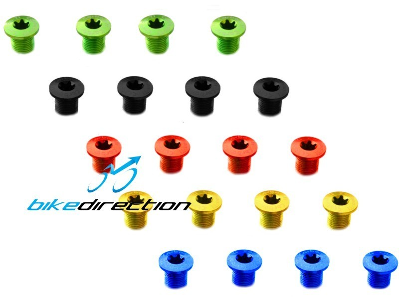 Carbon-ti-X-Fix-Male-Standard-bussole-colorate-viti-guarnitura-Bike-Direction