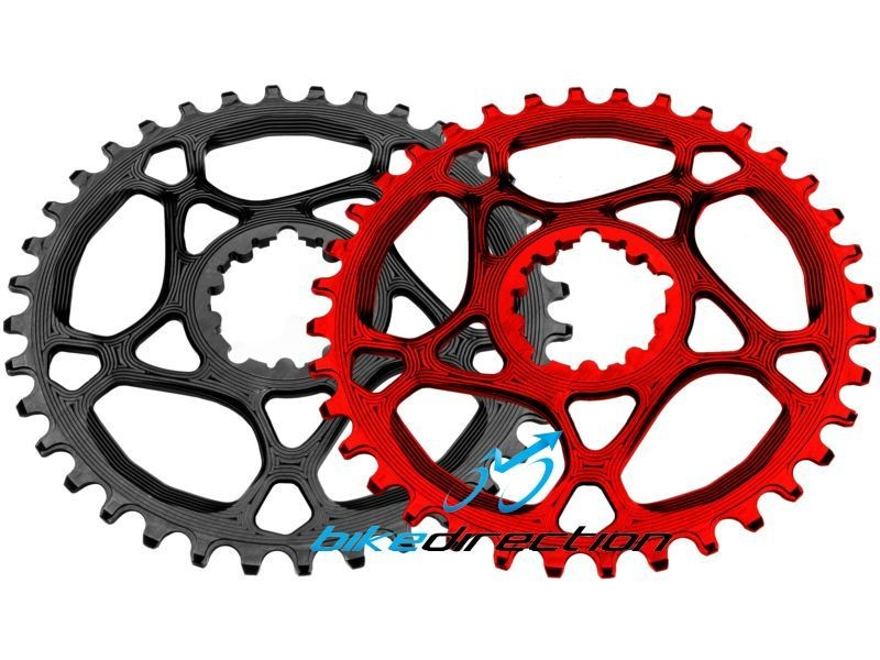 corone-SRAM-Truvativ-AbsoluteBlack-integrata-rossa-nera-MTB-XX1-28-30-32-34-denti-Bike-Direction