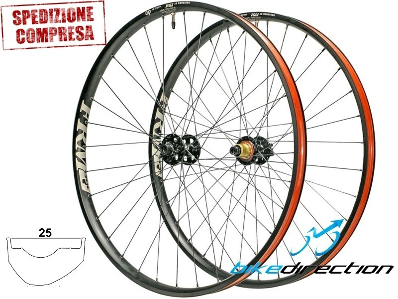 FRM-METEOR-i25-ruote-wheels-MTB-boost-lefty-12x142-SRAM-Shimano-Bike-Direction