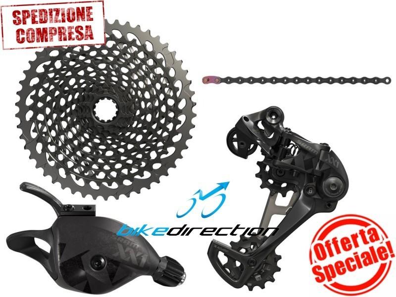 gruppo-SRAM-EAGLE-XX1-nero-black-12-speed-mtb-10-50-Bike-Direction