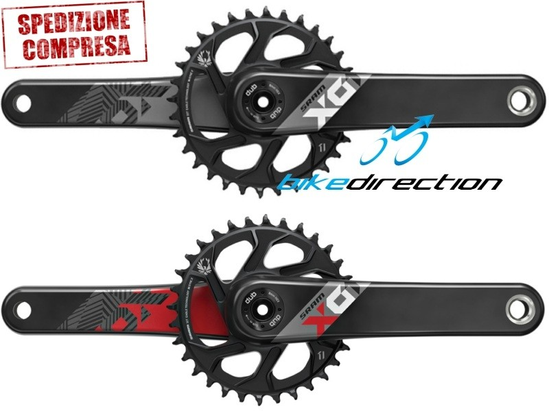 guarnitura-SRAM-EAGLE-X01-DUB-BOOST-bianca-rossa-nera-crankset-Bike-Direction