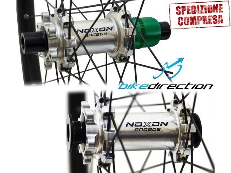 mozzi-NOXON-DISCOVERY-straight-pull-raggi-testa-dritta-Carbon-Ti-Soul-Kozak-Extralite-mtb-Bike-direction