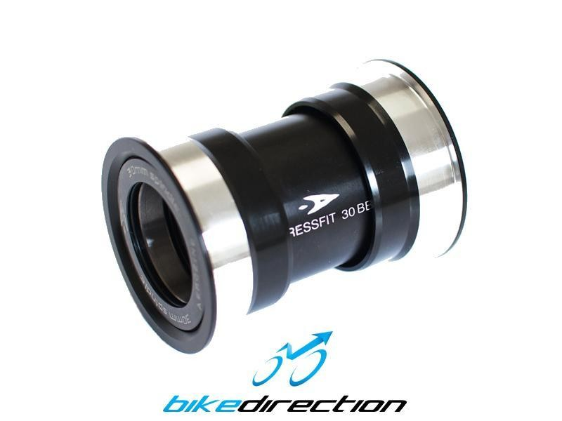 Press-Fit-ceramico-scatola-diametro-46mm-guarnitura-BB30-MTB-Corsa-Aerozine-Bike-Direction