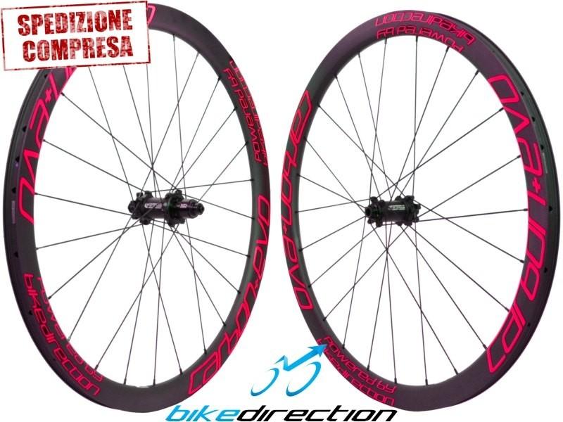 Ruote-carbonio-Corsa-basso-medio-profilo-Carbon+-EVO-Carbon-Ti-Bike-Direction