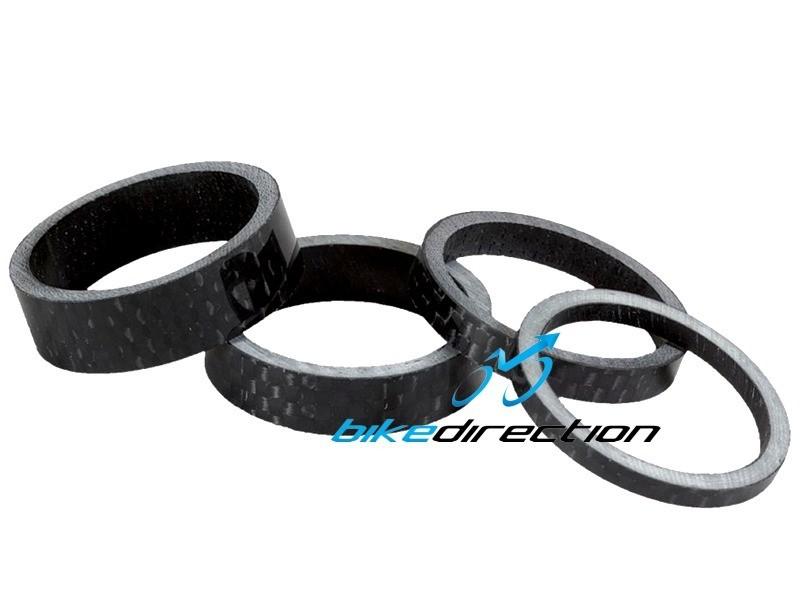 spessori-spacers-spessore-distanziali-carbonio-3K-serie-sterzo-Bike-Direction