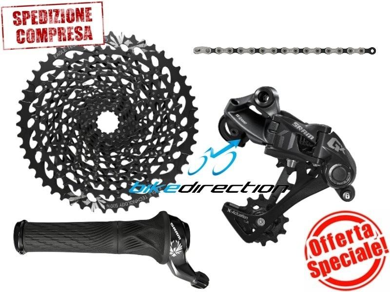 SRAM-EAGLE-GX-UPGRADE-KIT-grip-shift-12V-offerta-black-mtb-Bike-Direction