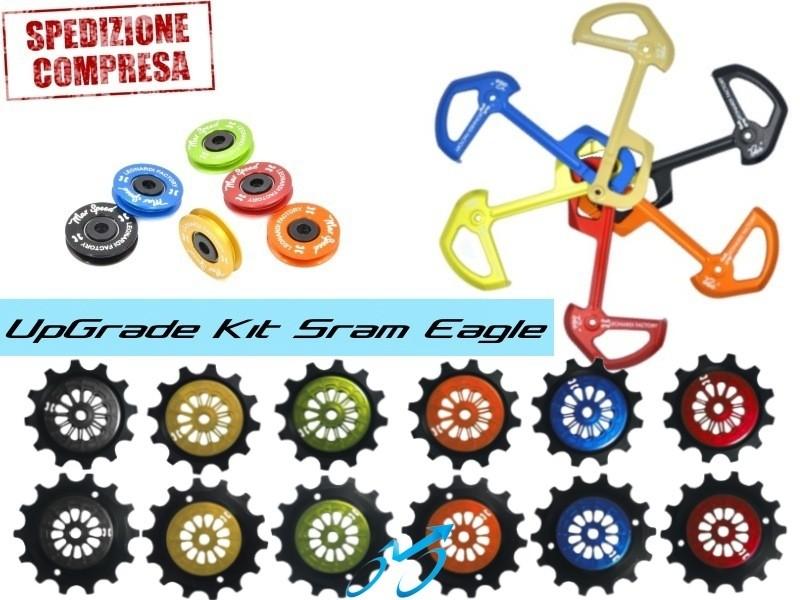 upgrade-kit-cambio-SRAM-EAGLE-GX-X01-XX1-Leonardi-pulegge-GUS-rotellina-Bike-Direction