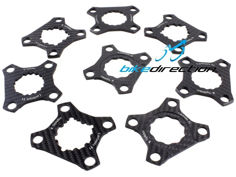 X-Spider-carbonio-CARBON-TI-bcd-76-Hollowgram-Truvativ-EAGLE-XX1-X01-guarnitura-Bike-Direction