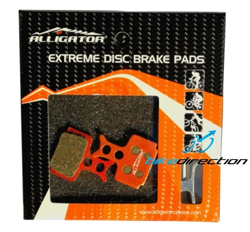 Alligator-EXTREME-carbon-formula-R1-R1R-PASTIGLIE-compatibili-freni-disco-mtb-Bike-Direction