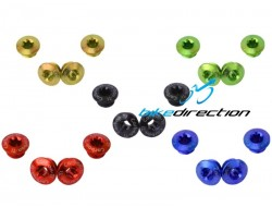 Bussole corona Carbon-ti Kit X-Fix MTB per SRAM XX1 nere, rosse, blu, gold, verde acido