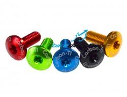 Carbon-ti-ergal-screw-m5x14-bottle-cage-large-head-colour-m5x10-Bike-Direction