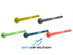 Perno passante posteriore colorato Carbon-ti X-Lock E-Thru asse 12x142