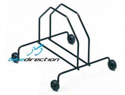 Cavalletto supporto ruota bici GIST MTB con ruote