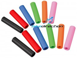 Manopole colorate in silicone MTB Sapience SuperGrip 130 mm. nere, rosse, verdi, rosa, arancione, blu