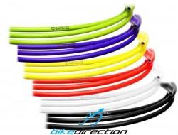 Guaina Sapience cambio e deragliatore 4 mm nero, rosso, verde acido, blu, bianco e giallo 1 mt.