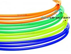 Guaina Fluorescente Sapience cambio e deragliatore verde, gialla, blu, arancione Kit 2,5 mt.