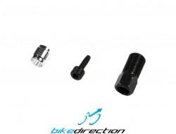 Kit ogive raccordo connessione tubo freno idraulico Avid Elixir, Juicy e Sram XX, X0, X9, X7, Code, Guide ecc