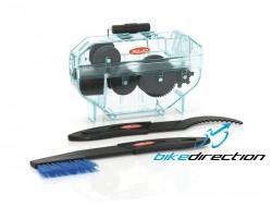 Lavacatena professionale XLC pulisci catena con spazzole