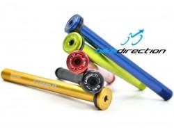 Perno passante posteriore colorato Carbon-ti X-Lock E-Thru asse 12x142 (171 mm)