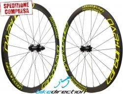 Ruote carbonio Corsa disc Carbon+ EVO Medio Profilo Carbon-Ti SP copertoncino-tubeless 1290 grammi
