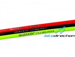Tubo colorato freni a disco Kevlar High Power Quaxar nero, rosso, verde, 1 mt.