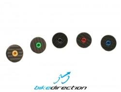 X-cap-matte-Carbon-ti-carbonio-opaco-bici-tappo-serie-sterzo-Bike-direction
