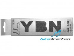 Catena superleggera YABAN SLA110-TiB 11V autolubrificante nera