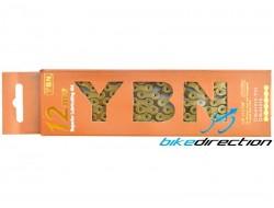 Catena leggera YABAN SLA-1210-Tig 12V autolubrificante Gold perni forati