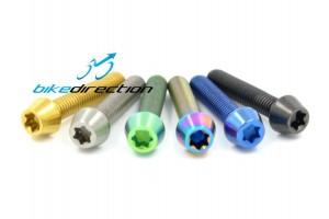 5x25-viti-titanio-colorate-rainbow-oro-blu-verde-Bici-Bike-Direction