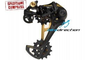 cambio-GOLD-oro-EAGLE-SRAM-mtb-12-velocità-Bike-Direction