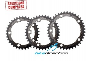 CARBON-TI-CARBO-RING-34-36-39-corona-carbonio-SRAM-SHIMANO-corsa-guarnitura-5bracci-bcd110-Bike-Direction
