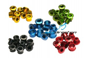 Carbon-Ti-X-Fix-Road-bussole-corone-corsa-strada-nere-rosse-oro-gold-verdi-blu-Bike-Direction