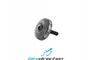 CARBONICE-Aheadkappe-Carbon-3K-UD-Schraube-tappo-carbonio-Bike-Direction