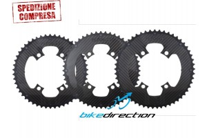 CARBORING-CARBON-TI-corone-Corsa- 4-bracci-bcd110-50-52-53-Bike-Direction