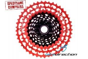 cassetta-leonardi-945-rossa-red-11V-pacco-sram-cassette-mtb-garbaruk-ingrid-Bike-Direction