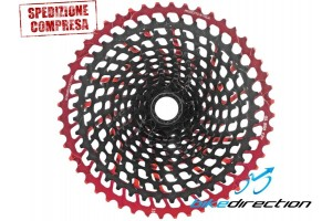 Cassetta-Leonardi-950-XL-sprocket-red-hot-rossa-NPU-Bike-Direction