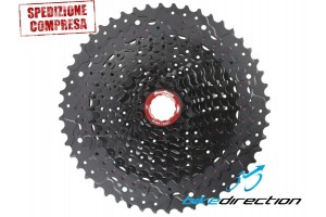 cassetta-mz91-pignoni-10-50-12V-nera-black-sram-corpetto-xd-Bike-Direction