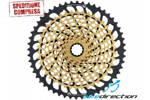 cassetta-pignoni-SRAM-XX1-Eagle-XG-1299-12-speed-Set-oro-XX1-gold-10-52-Bike-Direction