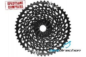 cassetta-SRAM-EAGLE-GX-1275-black-pignoni-pacco-12V-velocità-mtb-Bike-Direction