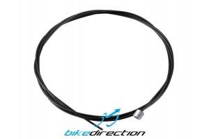 Cavo-cambio-deragliatore-teflon-ptfe-1,1mmx2100mm-nero-Corsa-MTB-Bike-Direction