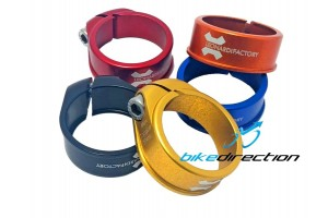collarino-reggisella-colorato-Leonardi-Factory-31,8-34,9-MTB-Corsa-Bike-Direction