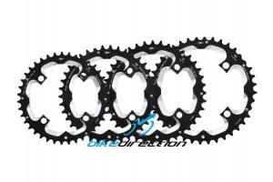 corona-doppia-shimano-Aerozine-40-39-38-36-denti-bcd-104-sram-race-face-corone-mtb-Bike-Direction