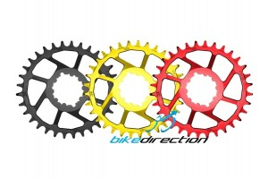 corone-rotonde-rosso-nera-gold-SRAM-EAGLE-boost-direct-mount-CRUEL-Bike-Direction